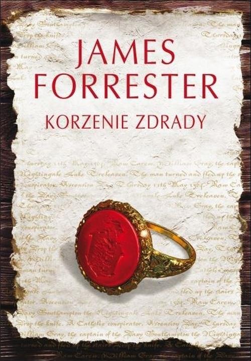 okładka Korzenie zdrady, Książka | Forrester James