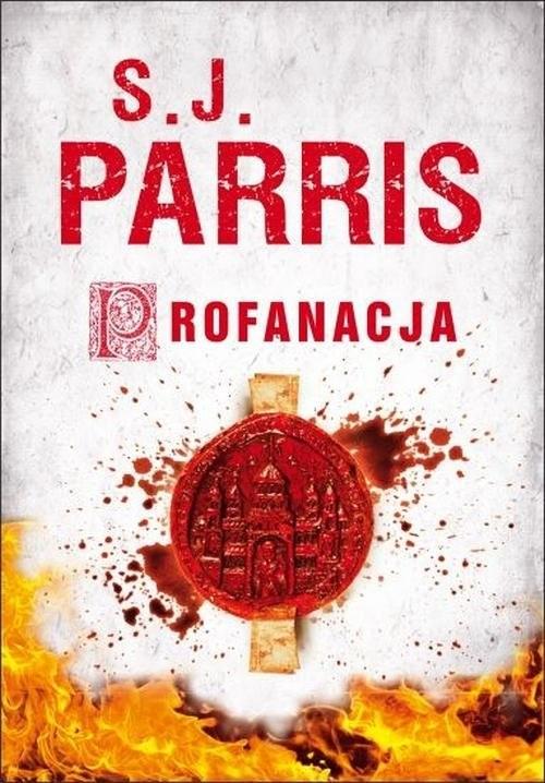 okładka Profanacja, Książka   Parris S.J.