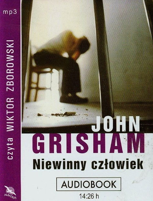 okładka Niewinny człowiek audiobookksiążka      Grisham John