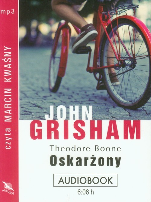 okładka Theodore Boone. Oskarżony, Książka | Grisham John