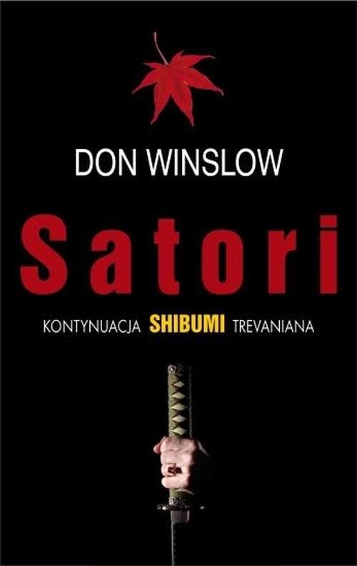 okładka Satori, Książka | Winslow Don