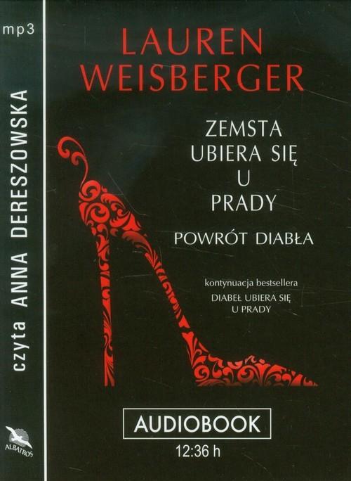okładka Zemsta ubiera się u Prady audiobook, Książka | Lauren Weisberger
