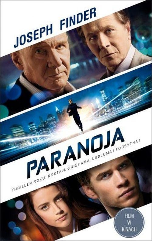 okładka Paranoja, Książka | Joseph Finder