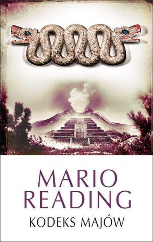 okładka Kodeks Majów, Książka | Mario Reading