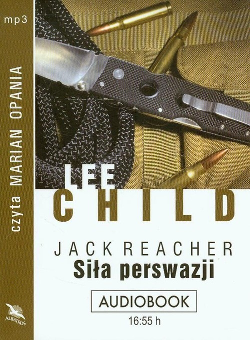 okładka Siła perswazji audiobook, Książka | Lee Child