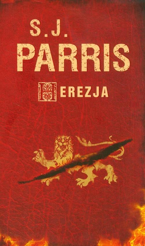 okładka Herezja, Książka   Parris S.J.