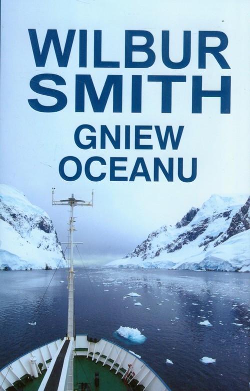 okładka Gniew oceanu, Książka   Wilbur Smith