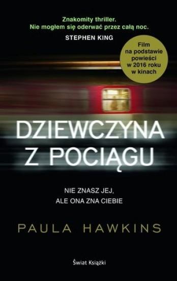 okładka Dziewczyna z pociągu, Książka | Hawkins Paula