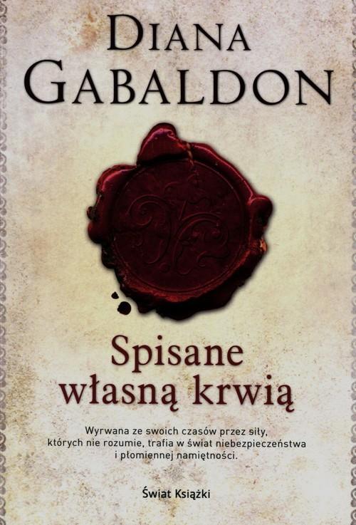 okładka Spisane własną krwiąksiążka      Diana Gabaldon