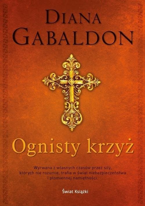 okładka Ognisty krzyż, Książka | Gabaldon Diana
