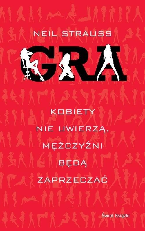 okładka Gra, Książka | Strauss Neil