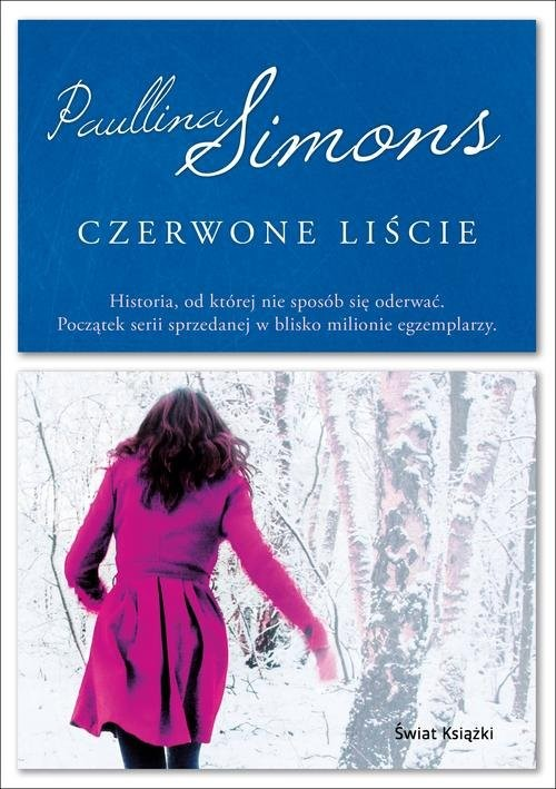 okładka Czerwone liście, Książka | Paullina Simons