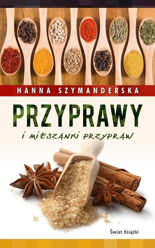 okładka Przyprawy i mieszanki przypraw, Książka | Hanna Szymanderska