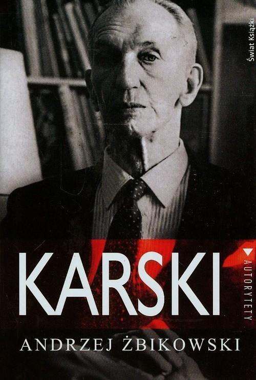 okładka Karski, Książka | Żbikowski Andrzej