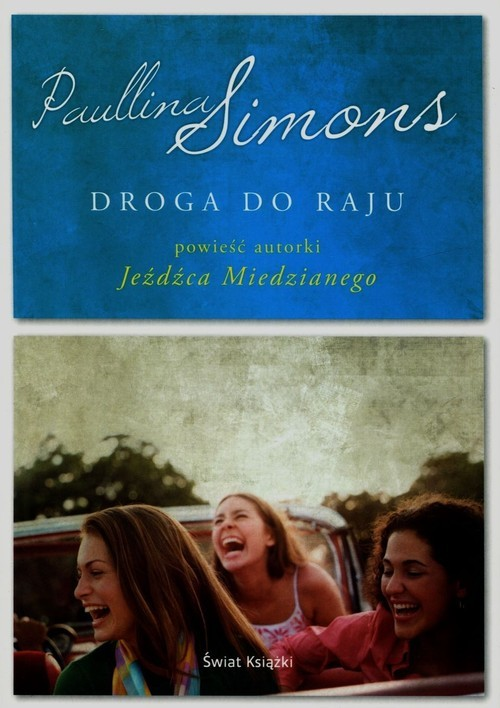 okładka Droga do raju, Książka | Paullina Simons
