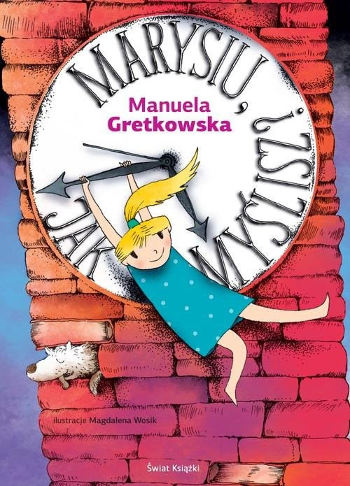 okładka Marysiu, jak myślisz?, Książka | Manuela Gretkowska