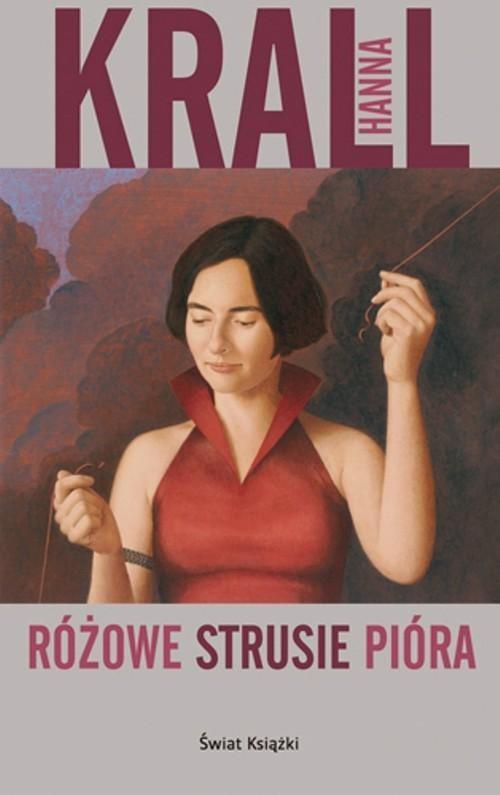 okładka Różowe strusie pióra, Książka | Krall Hanna