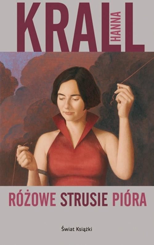 okładka Różowe strusie pióraksiążka      Hanna Krall