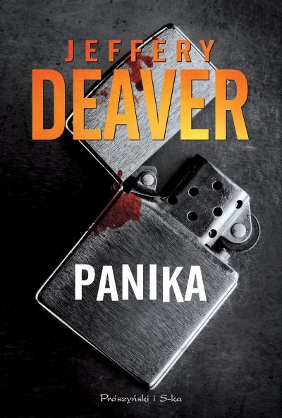 okładka Panika, Książka | Jeffery Deaver