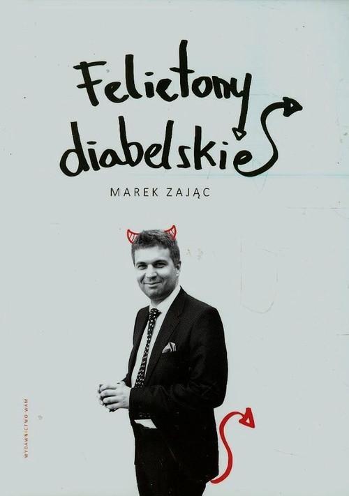 okładka Felietony diabelskie, Książka | Marek Zając