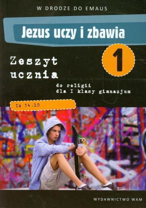 okładka Katechizm GIM 1 Jezus Uczy i Zbawia ćw. NPP, Książka | Zbigniew Marek, Anna Walulik