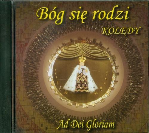 okładka Bóg się rodzi. Kolędy CD, Książka | Dei Gloriam Ad