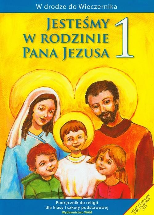 okładka Katechizm SP 1 Jesteśmy w rodzinie podr, Książka | Kubik Władysław