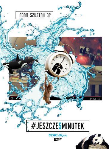okładka Jeszcze pięć minutek, Książka | Adam Szustak