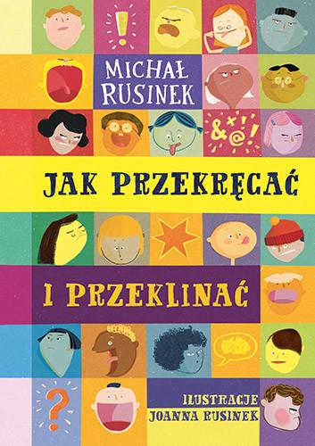 okładka Jak przekręcać i przeklinać, Książka | Rusinek Michał