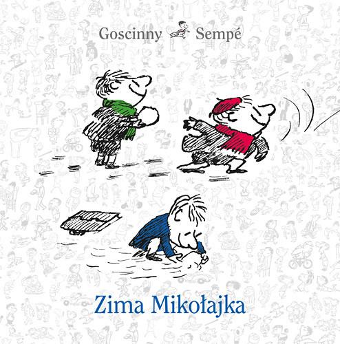 okładka Zima Mikołajka, Książka | Goscinny Rene, Sempé Jean-Jacques