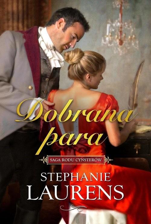 okładka Dobrana para, Książka   Laurens Stephanie