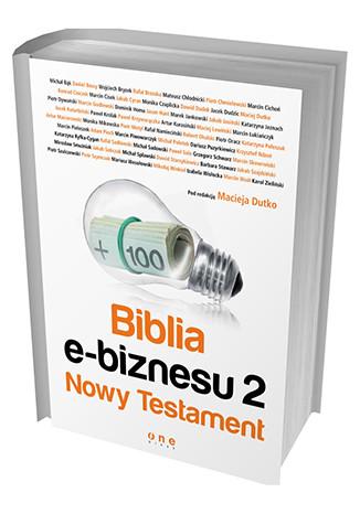 okładka Biblia e-biznesu 2. Nowy Testament, Książka | Dutko Maciej