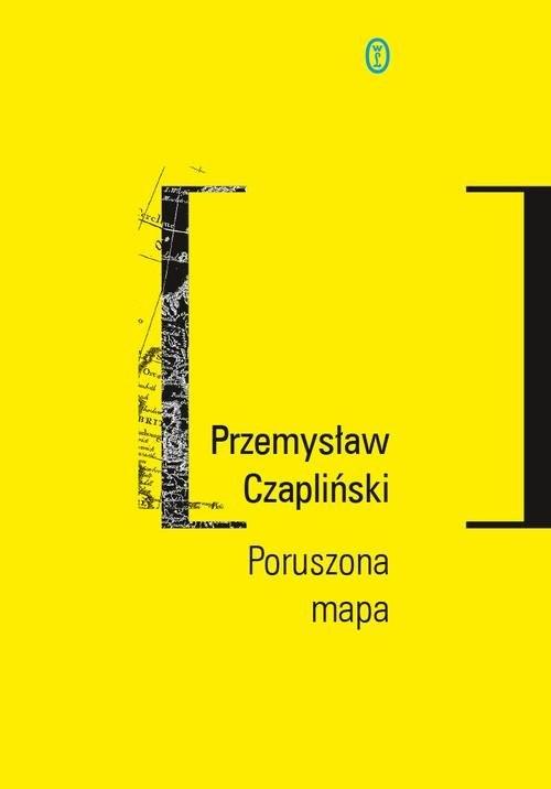 okładka Poruszona mapa, Książka | Czapliński Przemysław