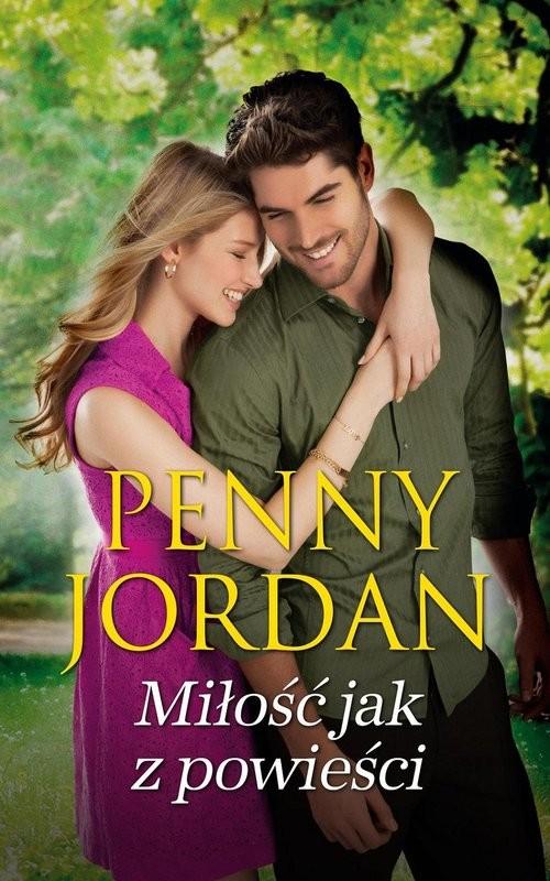 okładka Miłość jak z powieści, Książka | Penny Jordan