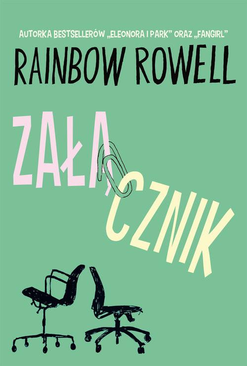 okładka Załącznik, Książka   Rainbow Rowell