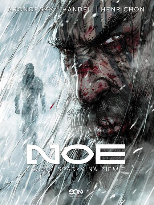okładka Noe Tom 3. I wody spadły na ziemięksiążka |  | Darren Aronofsky, Ari Handel