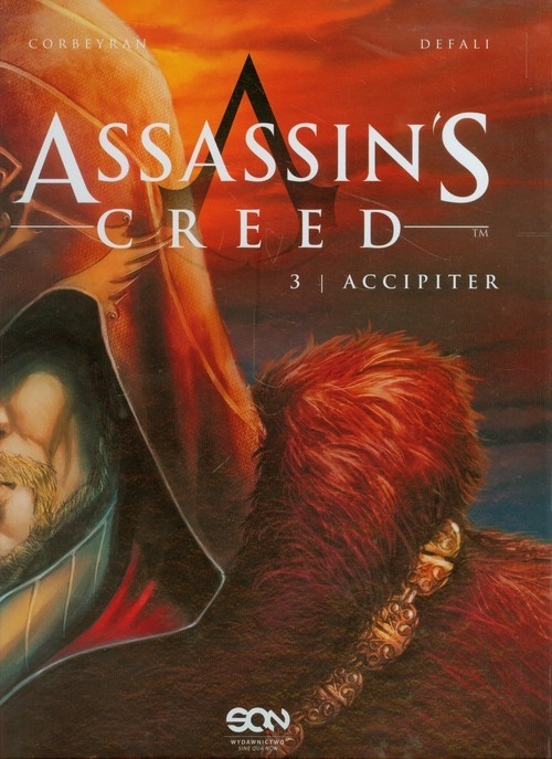 okładka Assassin's Creed 3. Accipiter, Książka | Corbeyran Eric