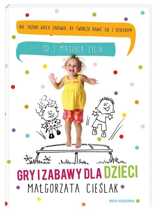 okładka Gry i zabawy dla dzieci, Książka | Cieślak Małgorzata