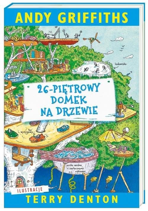 okładka 26-piętrowy domek na drzewie, Książka | Griffiths Andy