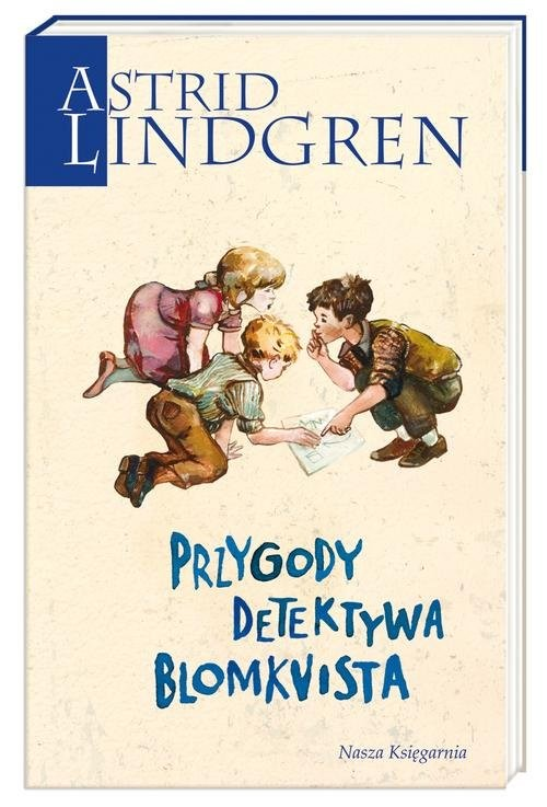 okładka Przygody detektywa Blomkvista, Książka   Lindgren Astrid
