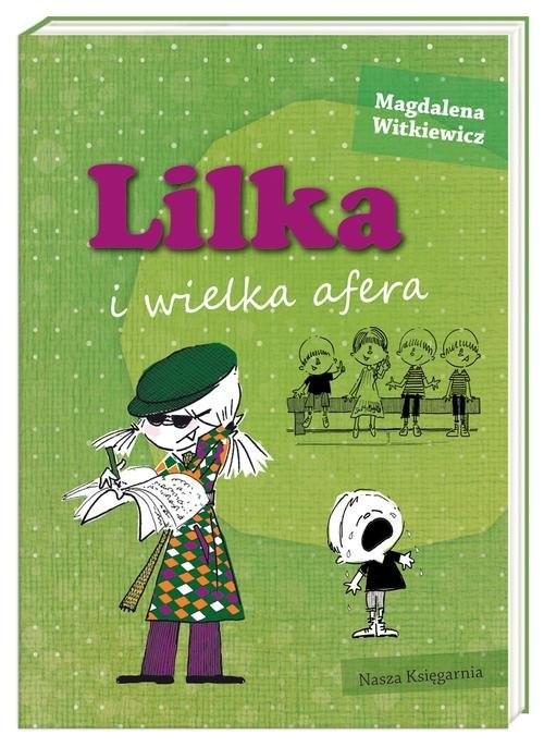 okładka Lilka i wielka afera, Książka | Witkiewicz Magdalena