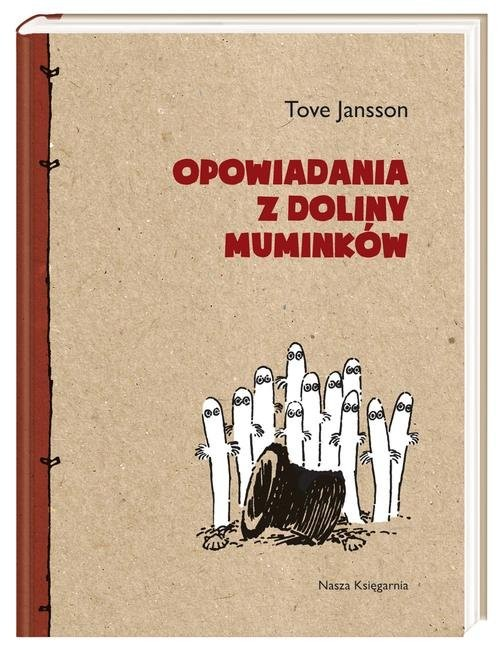 okładka Opowiadania z Doliny Muminków. KsiążkaJansson Tove