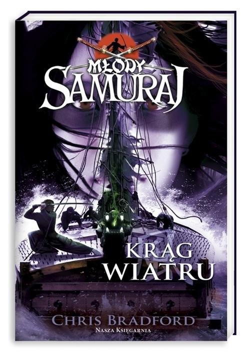 okładka Młody samuraj 7. Krąg wiatru, Książka | Bradford Chris