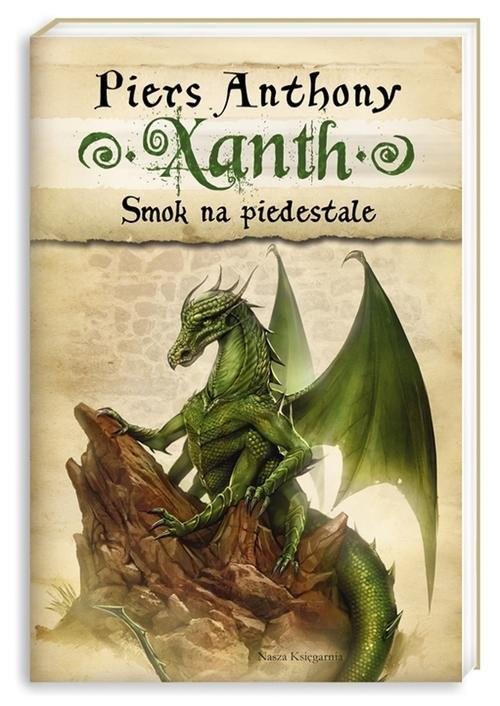okładka Xanth 7. Smok na piedestale, Książka   Anthony Piers