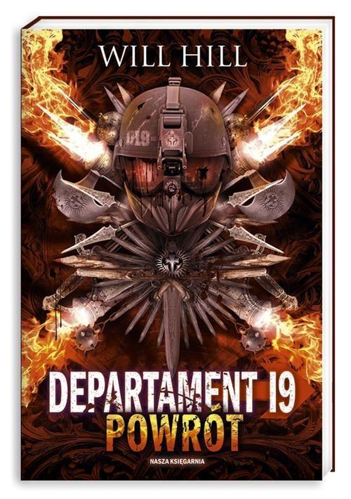 okładka Departament 19. Powrót, Książka | Will Hill