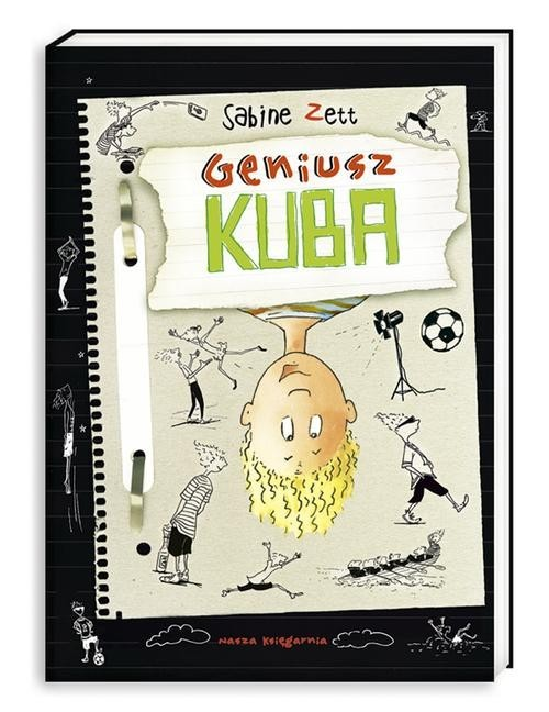 okładka Geniusz Kuba, Książka | Zett Sabine