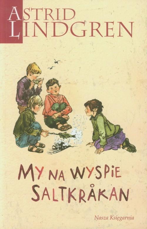 okładka My na wyspie Saltkrakan, Książka | Astrid Lindgren