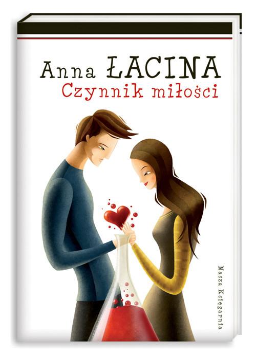 okładka Czynnik miłości, Książka | Łacina Anna