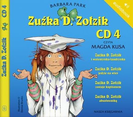okładka Zuźka D. Zołzik. CD 4. Audiobook, Książka | Park Barbara