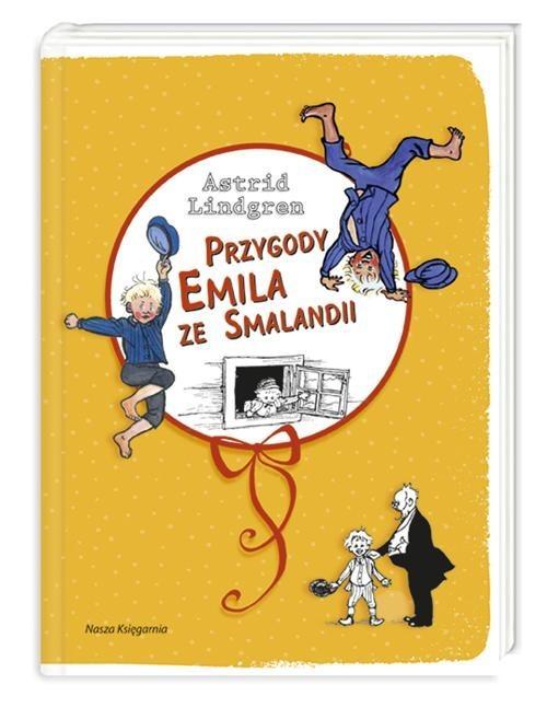 okładka Przygody Emila ze Smalandii, Książka   Lindgren Astrid
